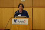 Hrynkow Represents NIEHS at AAAS Forum
