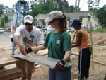 Employees Pitch In with Habitat for Humanity Project