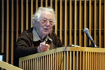Nobel Laureate Oliver Smithies Gives Rodbell Lecture