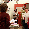 Teachers tour NIEHS facility