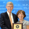 NIH Director Francis Collins, M.D., Ph.D. and NIEHS/NTP Director Linda Birnbaum, Ph.D.