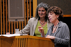 Arlene Blum, Ph.D., and Linda Birnbaum, Ph.D.