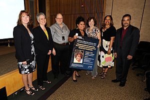 Members of Diversity Council with Elizabeth Yeampierre, J.D.