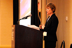 Lisa Feldt, deputy assistant administrator of the EPA Office of Solid Waste and Emergency Response (OSWER)