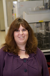 Sarah Tishkoff, Ph.D., in her lab