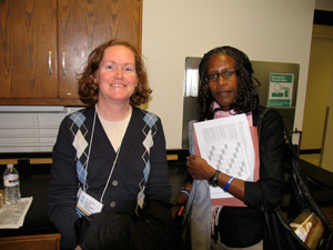 Sophie Bolick, Ph.D., and Harriet Kinyamu, Ph.D.