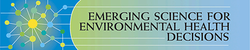 emerging science for environmental health decisions: Logo