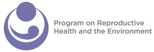Program on Reproductive Health and the Environment logo