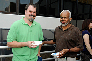 Jason Williams, Ph.D., and Lalith Perera, Ph.D.