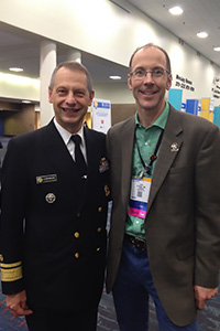 U.S. Surgeon General Boris Lushniak, M.D. and Liam O'Fallon, Ph.D.
