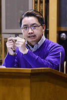 Howard Chang, M.D., Ph.D. speaking