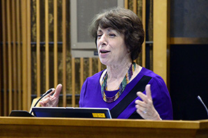 Photo of Birnbaum Speaking