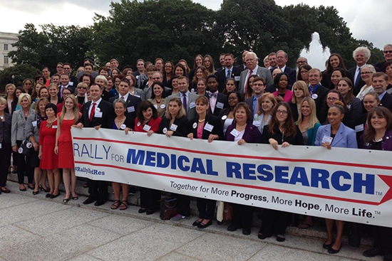 Photo of the Rally for Medical Research