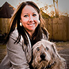 Jennifer Martinez, Ph.D. and dog Winston