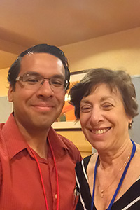 Gilbert Rivera Jr. and Linda Birnbaum