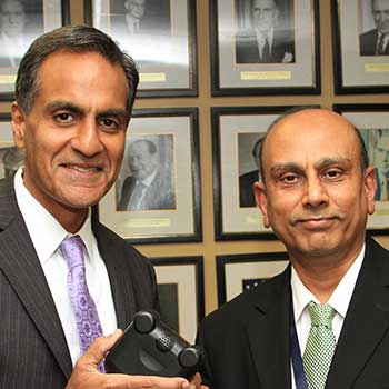 Sri Nadadur, Ph.D. and Richard Verma