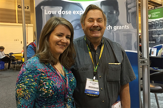 Tammy Collins, Ph.D. and Ron Mason