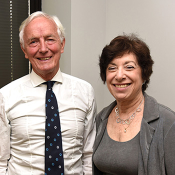 David Gee and Linda Birnbaum