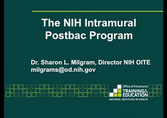 How to apply to the NIH Intramural Postbac Program