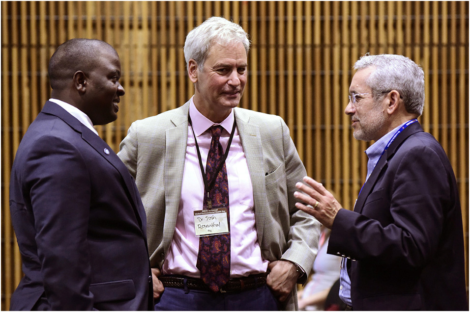 Kwena, Josh Rosenthal, Ph.D., and Jim Herrington