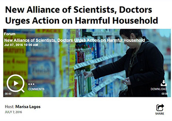 New Alliance of Scientists, Doctors Urges Action on Harmful Household