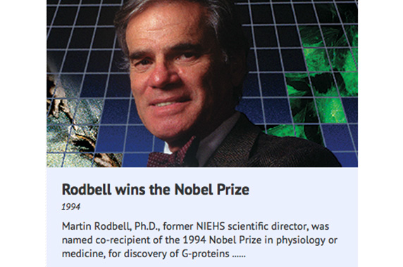 Rodbell wins the Nobel Prize