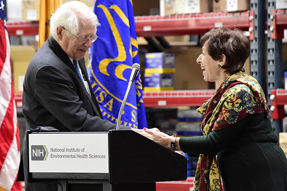 Grand Opening Celebrates NIEHS Net Zero Energy Warehouse