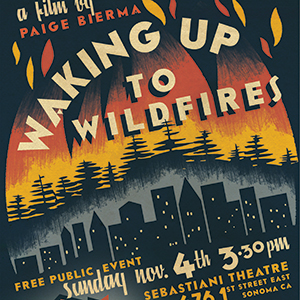 Waking up with Wildfires poster