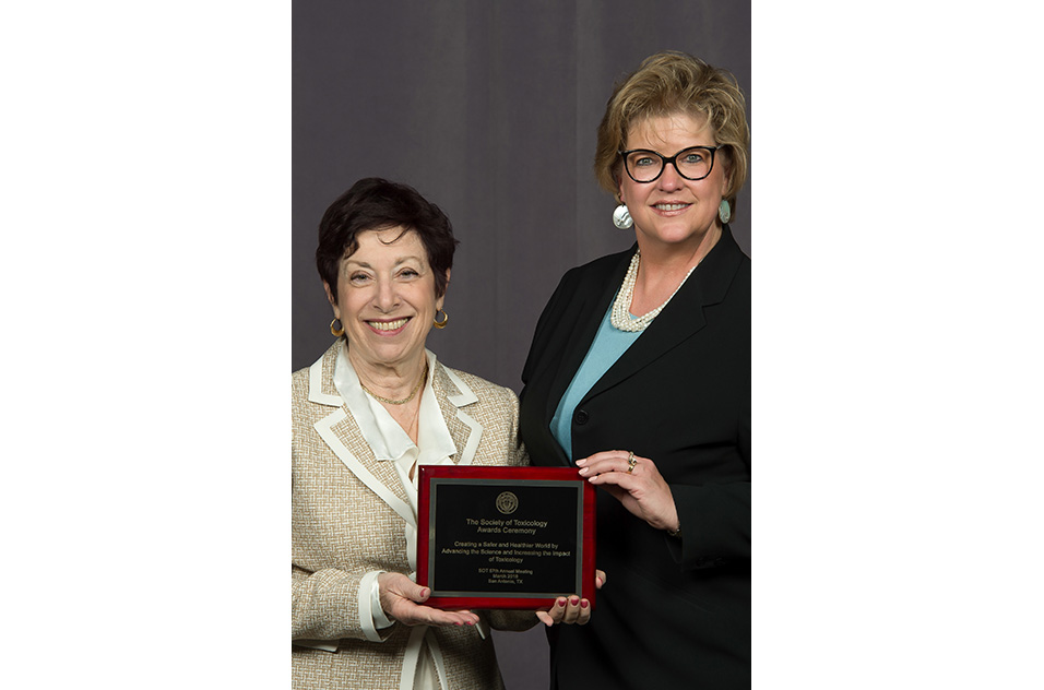 Birnbaum accepted the Arnold J. Lehman Award