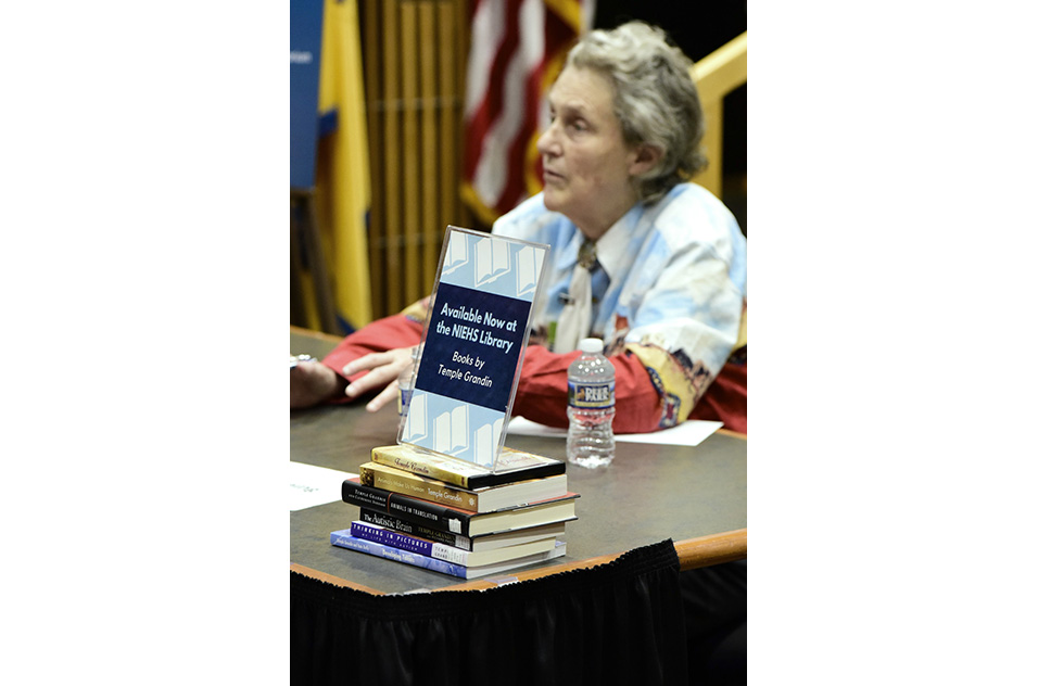 Temple Grandin book signing