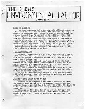 First Edition of Environmental Factor