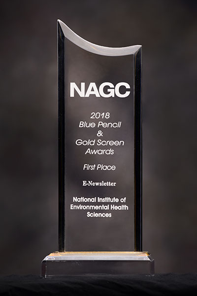 Environmental Factor wins first place in national competition (NAGC award)
