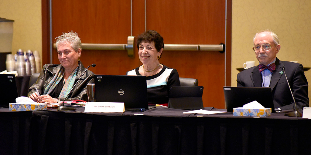 Gwen Collman, Ph.D., Linda Birnbaum, Ph.D., Rick Woychik, Ph.D.
