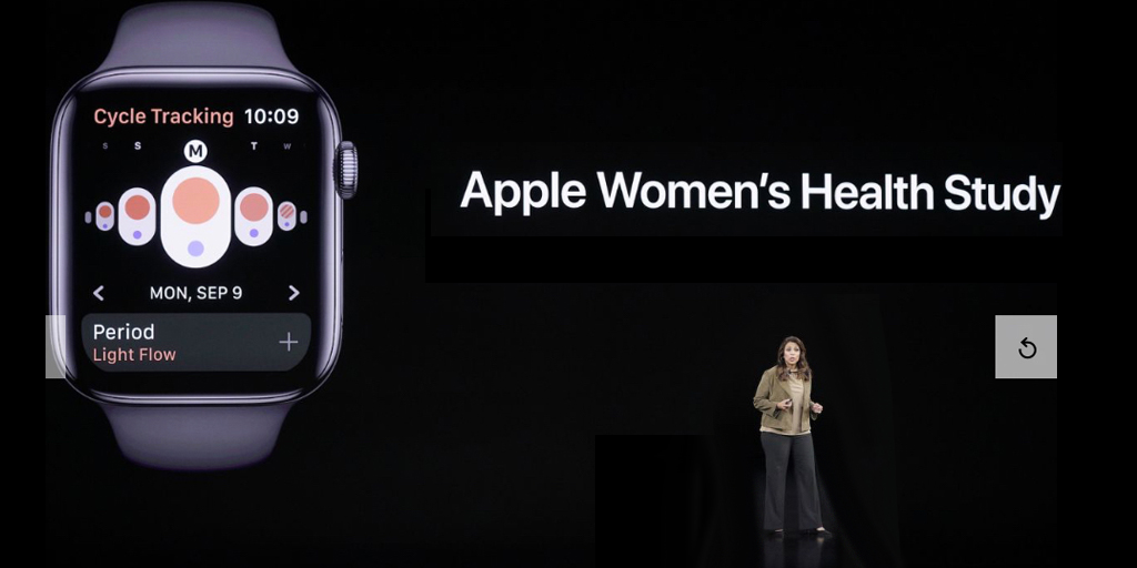 Sumbul Desai, M.D., Apple's vice president of health and Apple watch