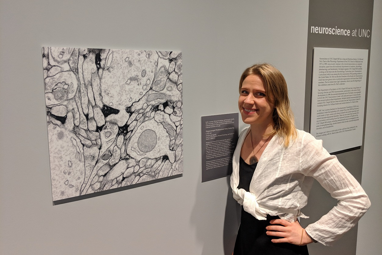 Kelly Carstens, Ph.D. in Ackland Art Museum