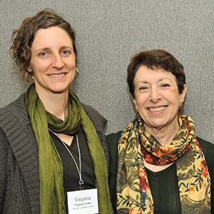 Director Linda Birnbaum, Ph.D. with Virginia Guidry, Ph.D.