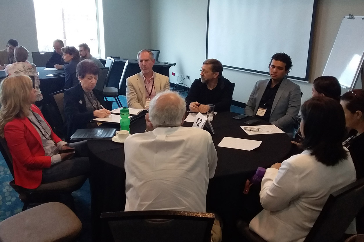 table discussions at Third International Workshop