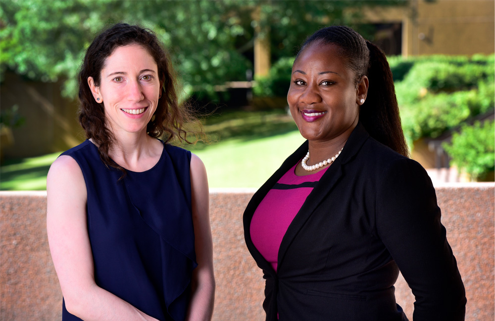 Natalie Shaw, M.D. and Chandra Jackson, Ph.D.