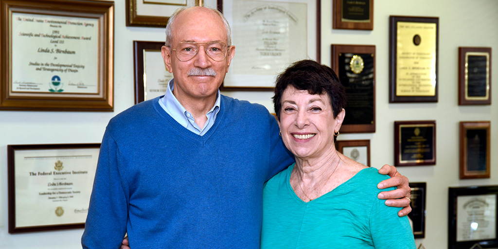 Rick Woychik, Ph.D. and Linda Birnbaum, Ph.D.