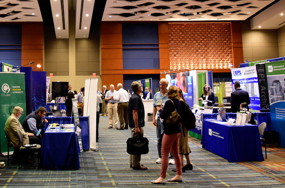 exhibit hall of Society of Toxicologic Pathology's (STP) meeting