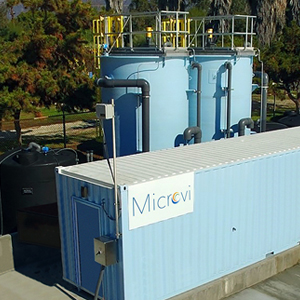 Microvi Biotechnologies, Inc., water treatment facility in CA