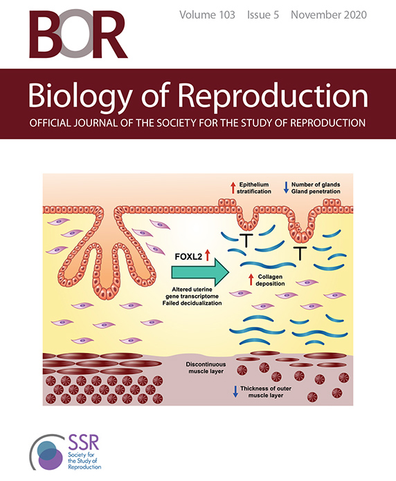 Biology of Reproduction, Volume 103, Issue 5, November 2020 cover